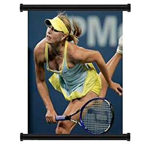 Maria Sharapova Sexy HOT Tennis Champion Fabric Wall Scroll Poster (16