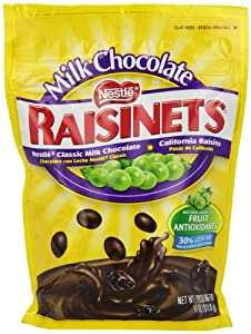Nestle Raisinets Stand Up Bag, 11.0-Ounce Bags (Pack of 6)