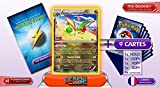 LIBEGON (Flygon) holo reverse 110/160 140PV XY05 Primo Choc - Optimized THUNDERBOLT booster cards - 10 French Pokemon trading cards