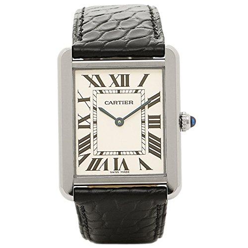 (カルティエ) Cartier カルティエ 時計 CARTIER W5200003 カルティエ タンク ソロ SS LM メンズ腕時計 ウォッチ ホワイト/シルバー/ブラック [並行輸入品]