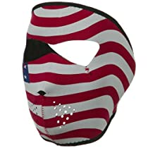 Neoprene Full Face Mask - Usa Flag