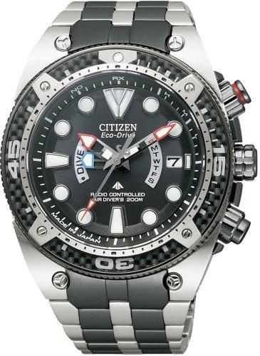 CITIZEN (シチズン) 腕時計 PROMASTER プロマスター Eco-Drive エコ・ドライブ 電波時計 ダイバーズウォッチ PMD56-2991
