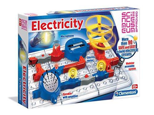 Science & Play - Electricity, Set sicuro per la creazione di circuiti elettrici