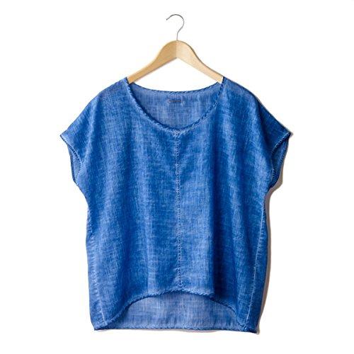 Bensimon Donna Tshirt Taglio Ampio Taglia Blu