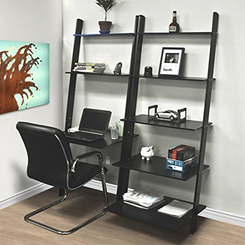 leaning-shelf-bookcase-with-computer-desk-office-furniture-home-desk-wood-premium-quality-brand-new