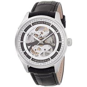 [ハミルトン]HAMILTON 腕時計 Jazzmaster Viewmatic Skeleton(ジャズマスター ビューマチック スケルトン) オートマチック H42555751 メンズ 【正規輸入品】