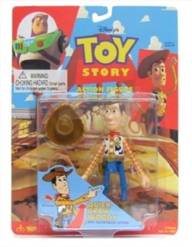 Toy Story Quick Draw Woody Action Figure with Quick Draw Action
