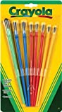 Crayola Paint Brushes 8 per Package, Assorted Colors & Sizes