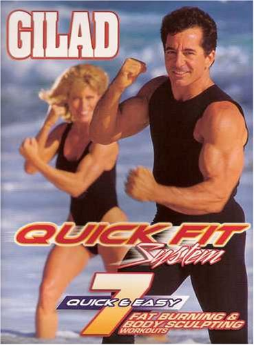 Gilad: Quick Fit System Fat Burning Body Sculpting Cardio Workout Set