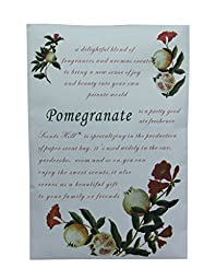 Scents Hill Scented Sachets Envelope for Closet,Lot of 8 (Pomegranate)