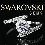 【SWAROVSKI GEMS]#28322 スワロフスキージェム刻印入リング 指輪 (13)