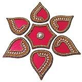 Rangoli Diamond modak Pink