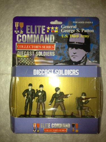 Elite Command Collector's Series Diecast Soldiers General George S. Patton Army - 1