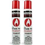Ronson 99146 2 Large Lighter Butane Refill 78 Grams 2.75 oz