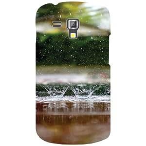Printland Designer Back Cover for Samsung Galaxy S Duos 7562 Case Cover