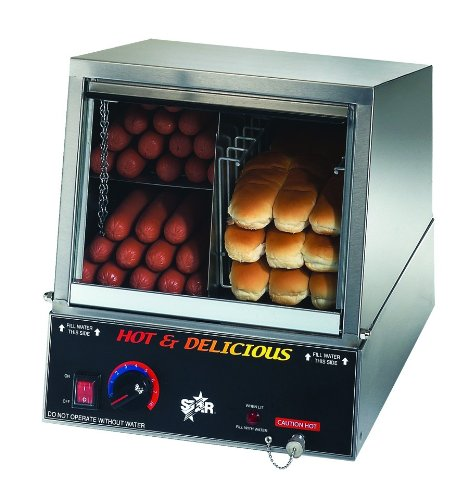 Star Mfg. Hot Dog Steamer W/ Juice Tray