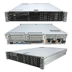 DELL PowerEdge R710 SFF 2 x 2.40Ghz E5620 Quad Core 32GB RAM 146GB RAID (Certified Refurbished)