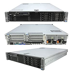 DELL PowerEdge R710 SFF 2 x 2.40Ghz E5620 Quad Core 32GB RAM 146GB RAID (Certified Refurbished)
