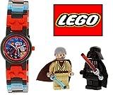 LEGO レゴ Star Wars スター・ウォーズ Darth Vader ダース・ベイダー VS OBI Wan オビ=ワン・ケノービ 8020387 Watch ウオッチ ウォッチ 腕時計 ミニフィギュア付 [並行輸入品]