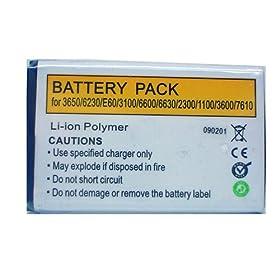 Accumulatore Li-Polymer Nokia C1-01 5220 Xpress 2710 Navigation 1800 1616 2730 classic ecc.