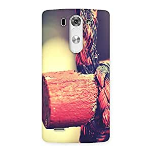 Bamboo And Rope Back Case Cover for LG G3 Beat