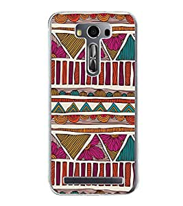 ifasho Designer Phone Back Case Cover Asus Zenfone Go ZC500TG (5 Inches) ( Hut Boats Tress Best View )