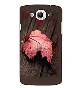 PrintDhaba Mapple Leaf D-2354 Back Case Cover for SAMSUNG GALAXY MEGA 5.8 (Multi-Coloured)