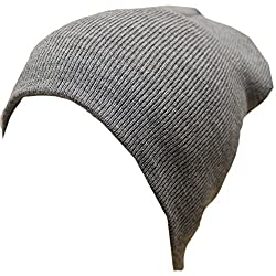 Artex Unisex Thinsulate Classic Beanie Hat Cap (One Size, Light Grey)