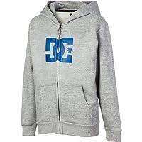 ディーシー DC Star Full-Zip Hooded Sweatshirt - Boys' Heather Grey アウトドア キッズ 子供 男の子 ジャケット 並行輸入
