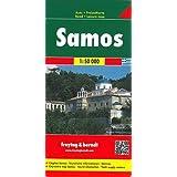 Freytag Berndt Autokarten, Samos - Maßstab 1:50.000 (freytag & berndt Auto + Freizeitkarten)