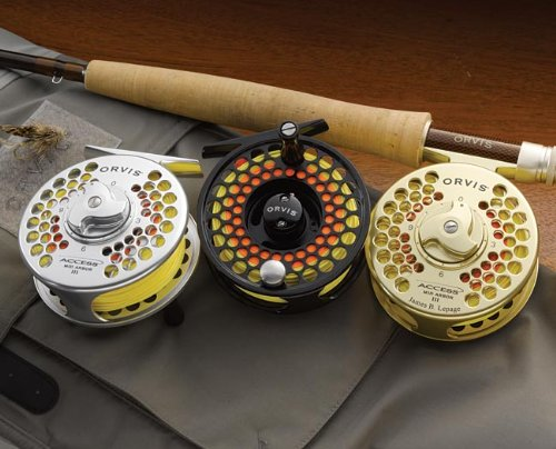 Access Mid-arbor Reels / Only Access Mid Arbor Iv: (5.28 Oz., 3 1/2 Diameter, For Line Weights 7-9)