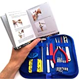 EZTool Professional Watch Repair Tool Kit: Plus 41-Page Illustrated