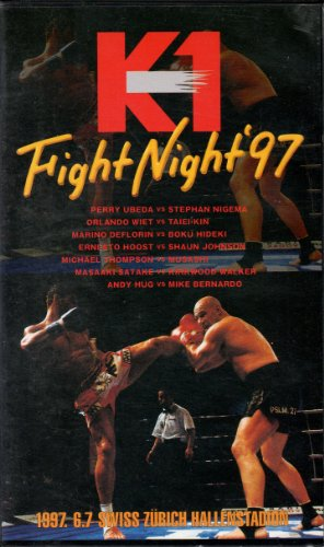 K-1 FIGHT NIGHT'97 [VHS]