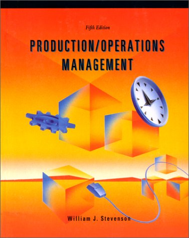 Production and operations management (eBook )