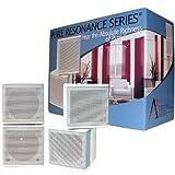 "Pure Resonance Audio MC2.5W Mini Cube Speaker 2.5"" Swivel Surround Sound (Pair) ~ Pure Resonance Audio"