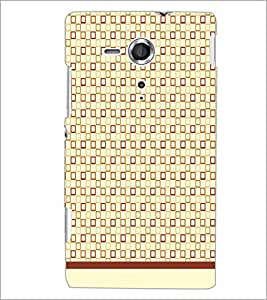 PrintDhaba Pattern D-1582 Back Case Cover for SONY XPERIA SP (Multi-Coloured)