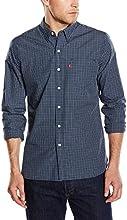 Levi's Men's Sunset 1 Pocket Regular Fit Long Sleeve Casual Shirt