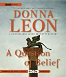 A Question of Belief   (Commissario Guido Brunetti Mysteries) (A Commissario Guido Brunetti Mystery)