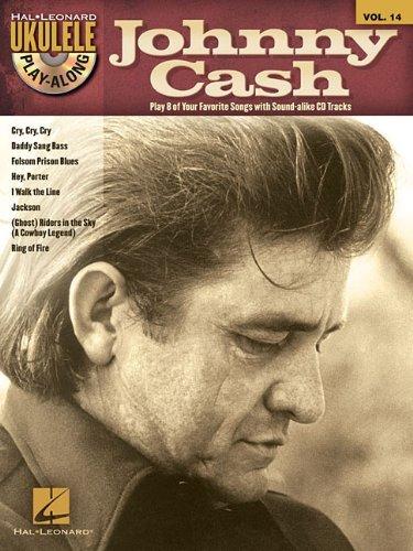 Johnny Cash - Ukulele Play-Along Vol. 14 (Book/CD) (Hal Leonard Ukulele Play-Along) by Johnny Cash (2012-05-01)