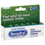 Benadryl Itch Stopping Cream, Extra Strength, 1 oz (28.3 g)