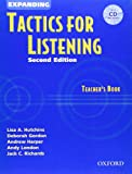 Expanding Tactics for Listening: Teacher's Book with Audio CD (0194384616) by Hutchins, Lisa A.