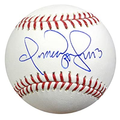 Omar Vizquel Autographed MLB Baseball PSA/DNA