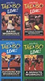 Billy Blanks TaeBo Live! Basic Workout / Instructional Workout / Advanced Workout / 8-Minute Workout