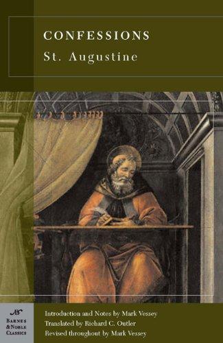 Confessions (Barnes & Noble Classics Series) front-925198