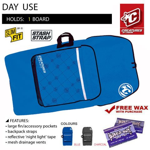 Creatures of Leisure Day Use Bodyboard Bag by Creatures of Leisure