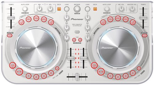Click for Pioneer Pro DJ DDJ-WeGO2-W DJ Controller
