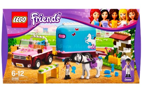 lego friends horse trailer instructions