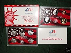 2006 US MINT SILVER PROOF COIN SET W/ STATE QUARTERS