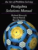 img - for Prealgebra Solutions Manual book / textbook / text book