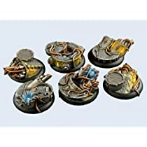 Battle Bases: Power Plant Bases Wround 40mm (2)